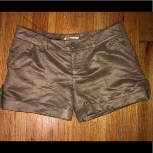 ARDEN B - FAUX LEATHER SUEDE SHORTS - Pockets - 4
